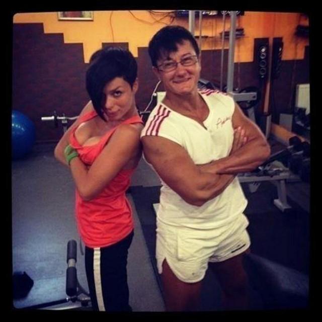 Самая сильная женщина Украины Анна Куркурина