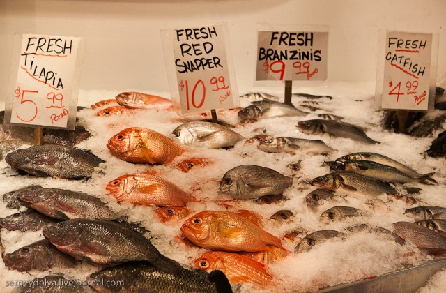 Рыбный рынок Сиэтла