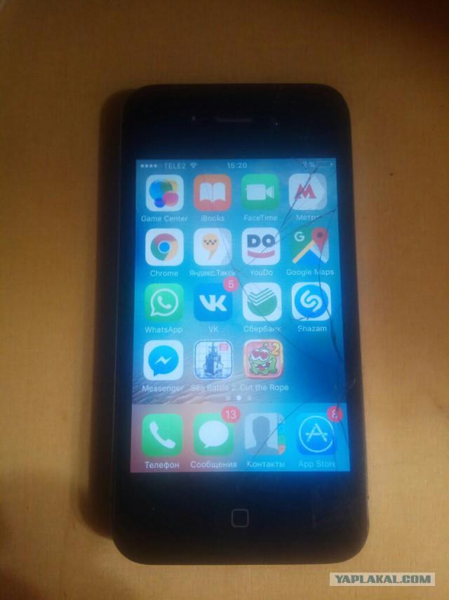 Apple iPhone 4S 8Gb Black (Чёрный) за 2500 руб