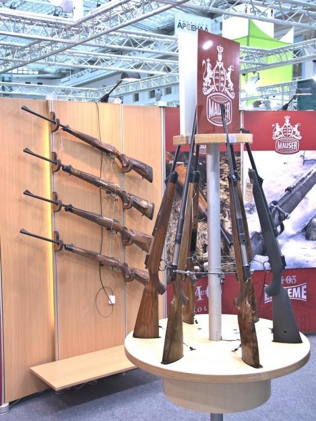 """Выставка """"Оружие и охота"""" в Москве"""