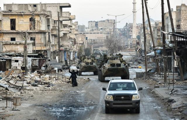 При подрыве автомобиля в Сирии погибли четверо российских военнослужащих