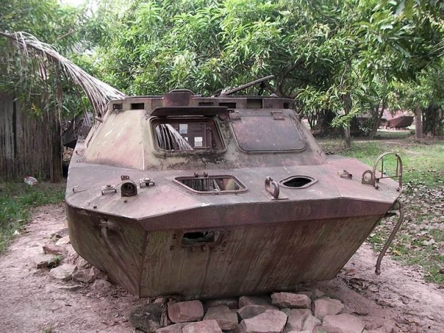 Музей ржавчины. Камбоджа