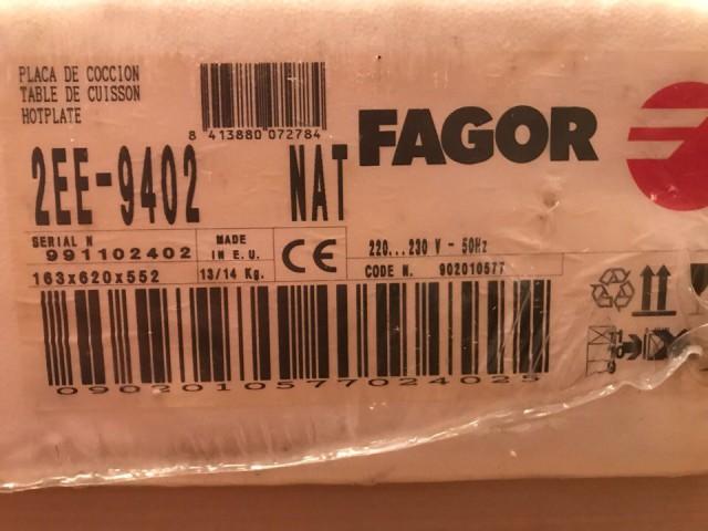 Продам газовую варочную панель Fagor