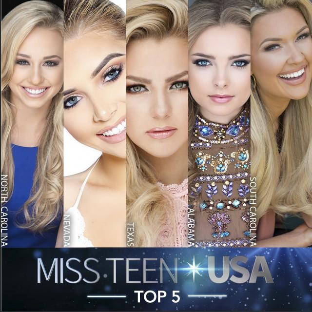 Финалистки конкурса красоты в США оказались на одно лицо