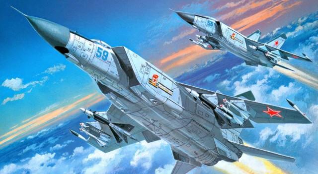 Небесный Лис МИГ-25: как построить Легенду