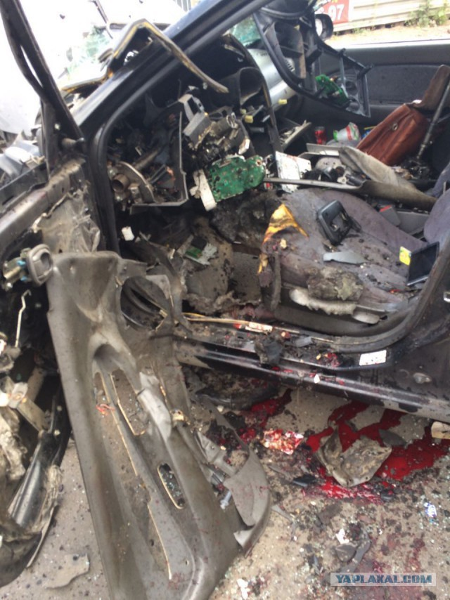 В Уфе на ходу взорвался автомобиль: водителю оторвало ноги. Считают - бомба
