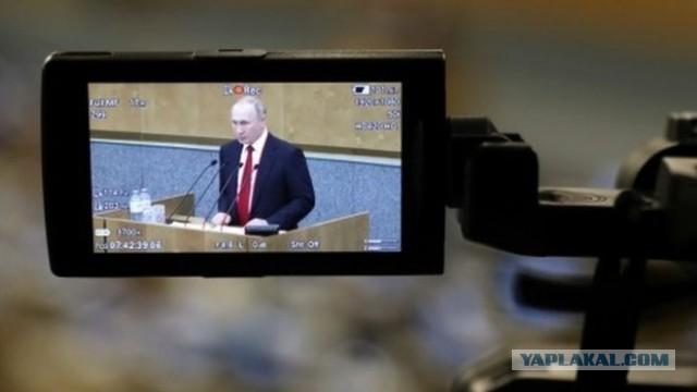 Как российское ТВ объясняло согласие Путина обнулить президентские сроки