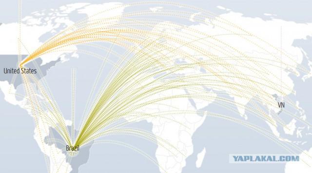 В США сейчас происходит гигантская DDos атака!