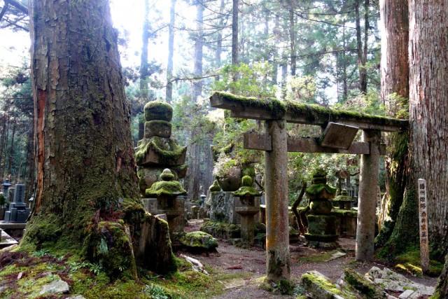 Коя-сан - древнее кладбище святой горы