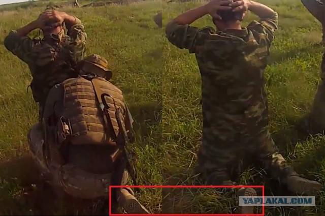 """Террористы добровольно сдаются украинским военнослужащим: """"Стоять! Руки я должен видеть! На колени!"""" - Цензор.НЕТ 6241"""