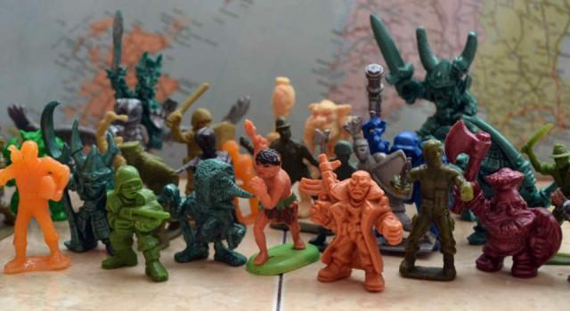 Пластиковый Шварценеггер и звероботы: солдатики кооперативной эпохи
