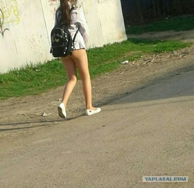 Никогда не носите телесные лосины