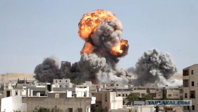 Российские самолеты нанесли удары по позициям ИГ