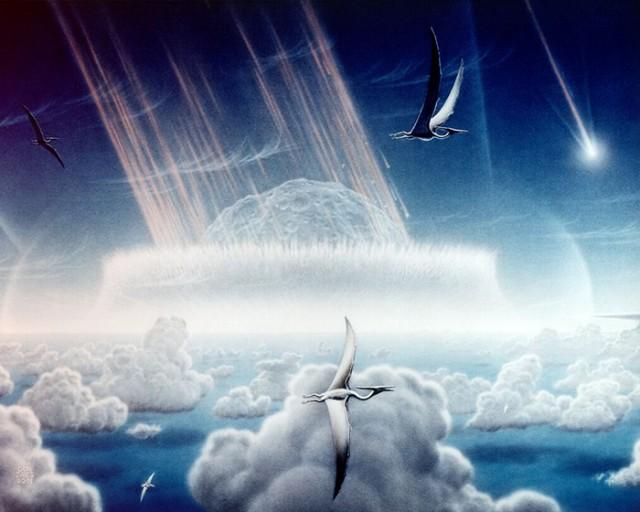 Что случилось в день, когда астероид упал на динозавров