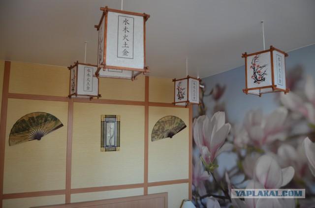 Как сделать японский светильник своими руками