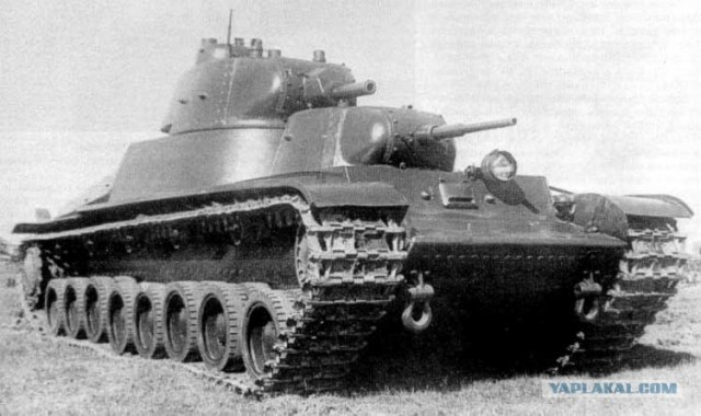 Эксперементальная бронетехника Красной Армии