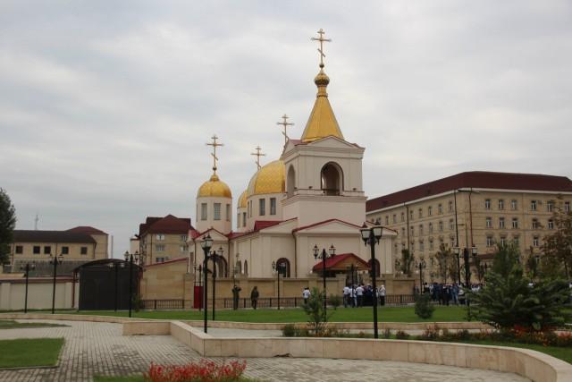 В Грозном четверо боевиков пытались захватить православный храм Архангела Михаила