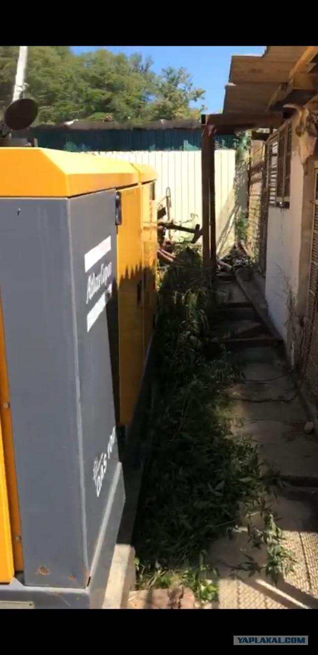 Дизель генератор ATLAS COPCO QAS 100