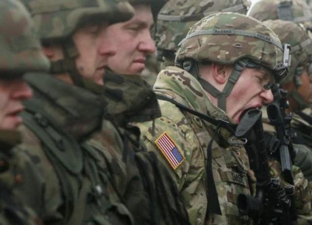 На учениях НАТО американские солдаты подрались