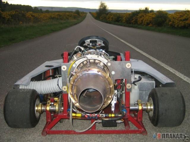 Реактивный двигатель своими руками фото