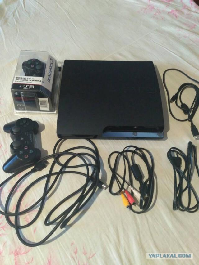 Продам PlayStation 3 slim 320Gb, шитая