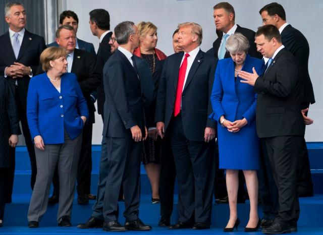 Саммит НАТО 11-12.07.2018