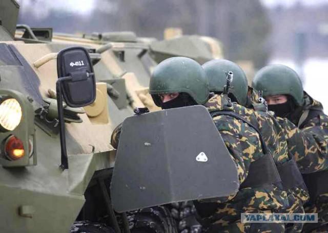 """Спецназ СБУ отказался разоружать крымский """"Беркут"""""""