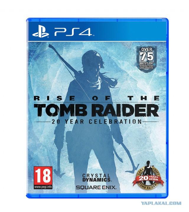 [PS4] Продам Ключ активации Rise of the Tomb Raider: 20 Year Celebration