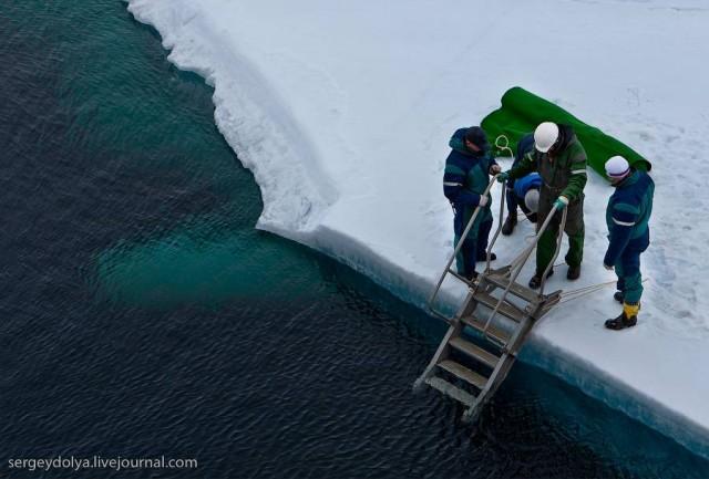 Северный полюс. Как это было
