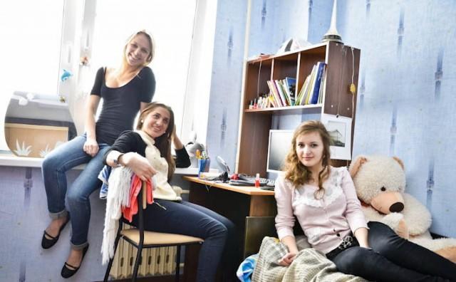 фото студенты в общаге