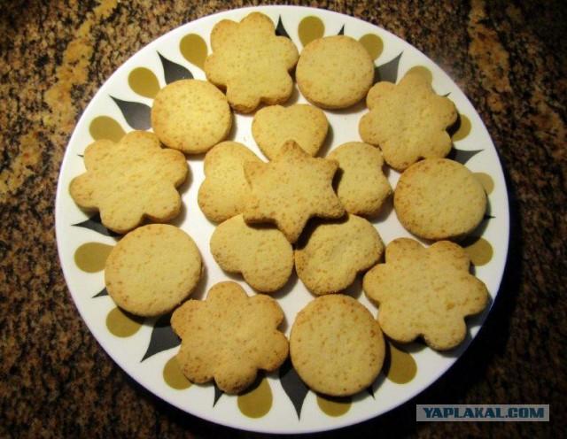 Сахарное рассыпчатое печенье рецепт пошагово