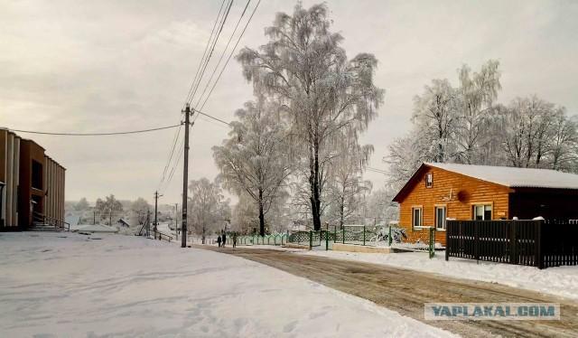Пару фото из жизни белорусской деревни