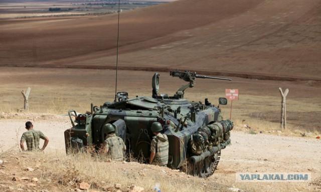 Турция и Саудовская Аравия в наземной операции