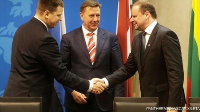 На каком языке общаются между собой премьеры Литвы, Латвии и Эстонии