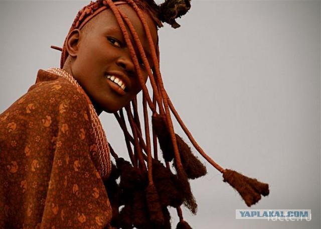 Самые красивые африканские племена: Химба