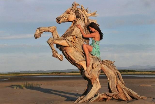 Деревянные шедевры Jeffro Uitto