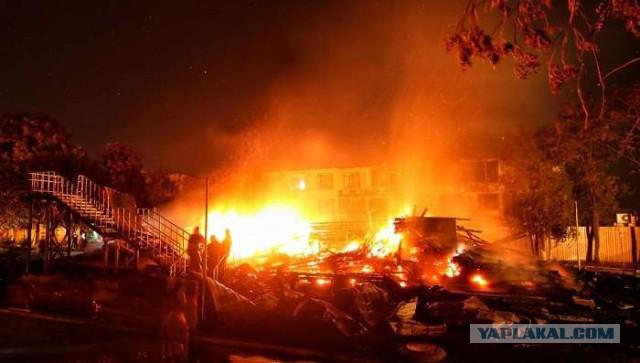 Пожар в детском оздоровительно-спортивном лагере на даче Ковалевского в Одессе: есть  жертвы