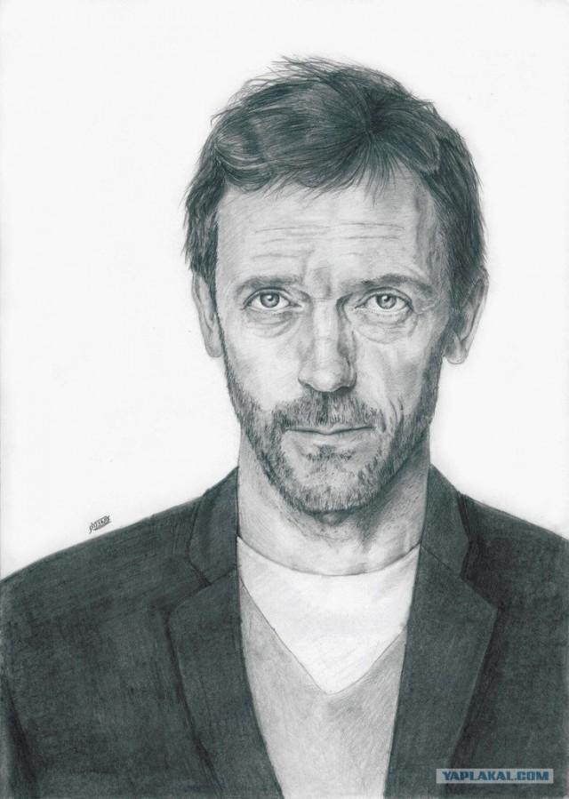Рисунки молодого, но очень талантливого художника