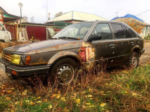 Mazda 323 на обмен