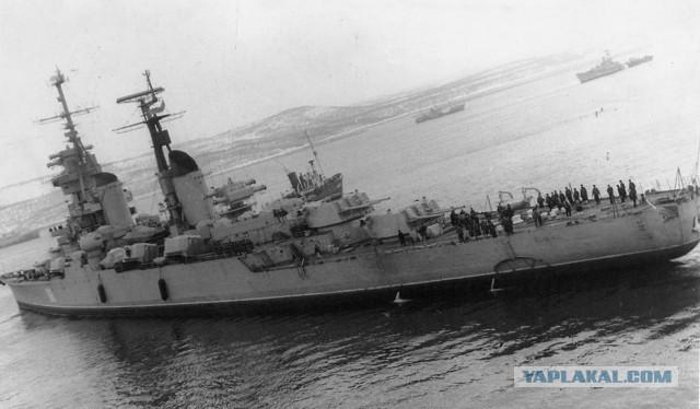 "Как норвежцы резали крейсер ""Мурманск"""