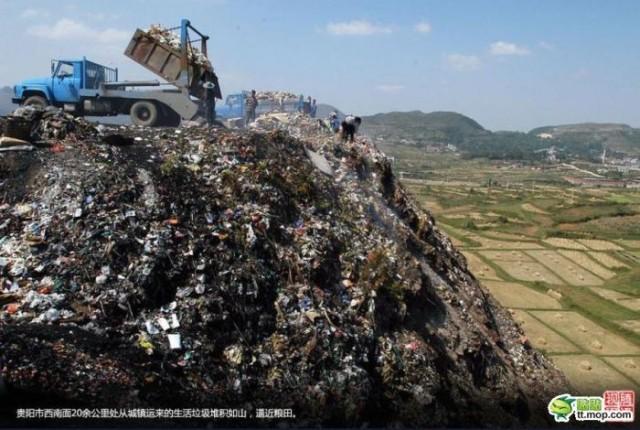 Грязь и отходы - обратная сторона Китая