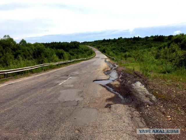 Николай Валуев застрял на «дороге смерти» в Хабаровском крае