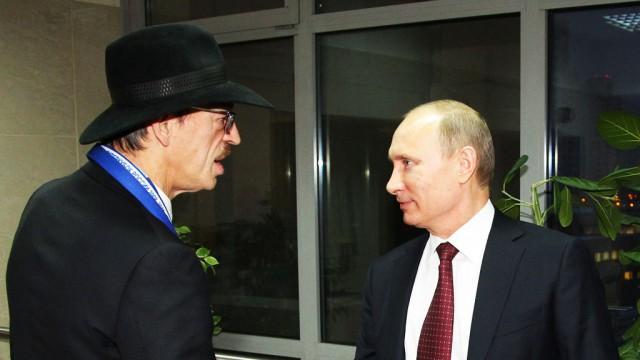 Михаил Боярский назвал Путина «личностью номер один на земном шаре»