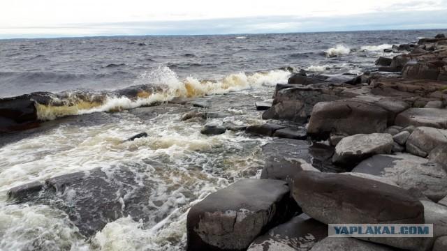 На катамаране по Ладожскому озеру вокруг Валаама. Фотоотчет