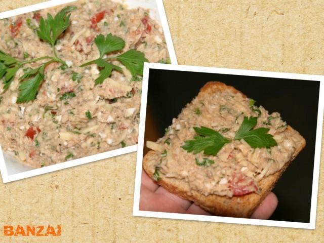 Салат-паштет из рыбной консервы - ЯПлакалъ
