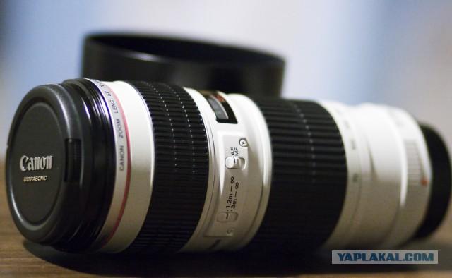 Продам Canon EF 70-200 mm f/4 L USM