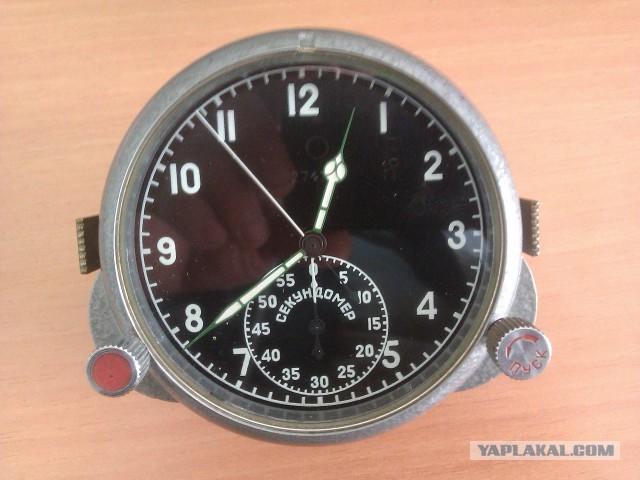 Часы авиационные (технические) -ЧП-59