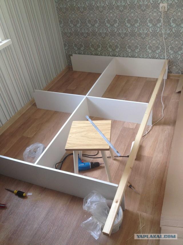Шкаф, комод, кровать своими руками
