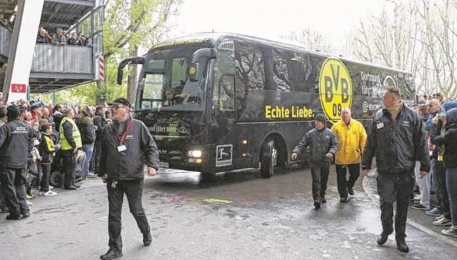 «Боруссия» Д: бомба взорвалась у нашего автобуса, игроки сейчас в безопасности