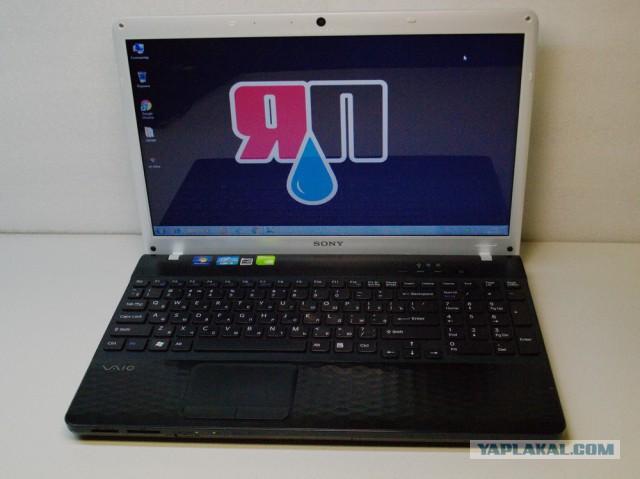 Ноутбук Sony VAIO i5  8000р